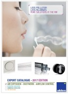 New Export Catalogue 2017/18 – Air diffusion, Ductwork and Airflow Control is available !