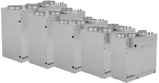 VEX300T : The new Premium ALDES EXHAUSTO AHU model makes 50% space savings